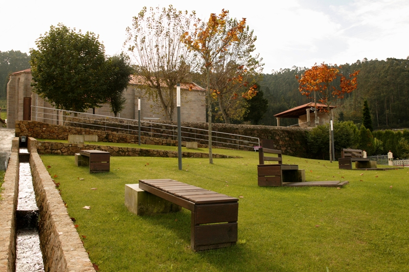 Entorno do Mosteiro de San Pedro de Soandres